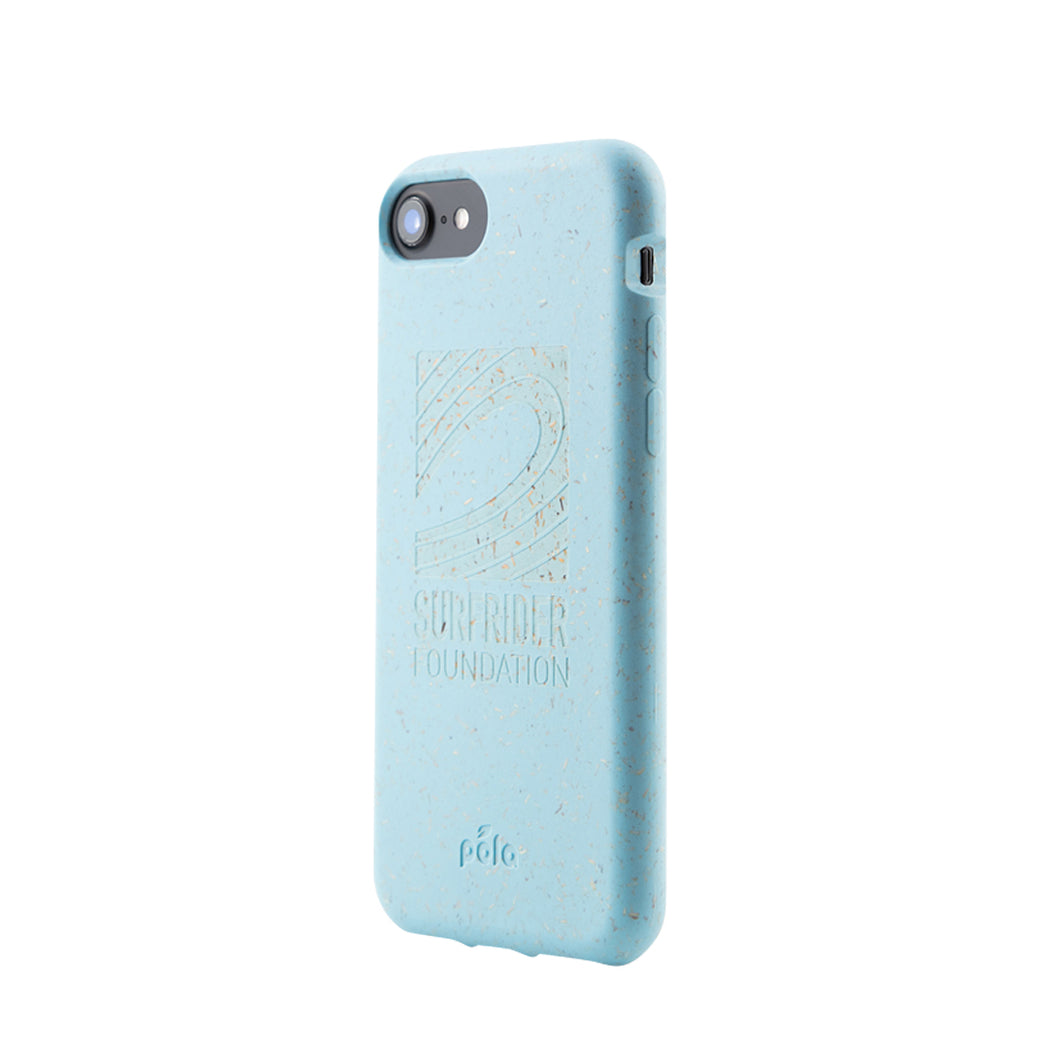 info for d27e3 41e79 Surfrider Sky Blue Eco-Friendly iPhone 7/8– Pela Case