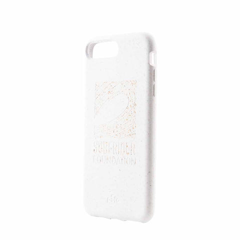 Surfrider White Eco-Friendly iPhone Plus Case