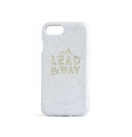 """Lead The Way"" White Eco Friendly iPhone SE / 5 / 5S Case"