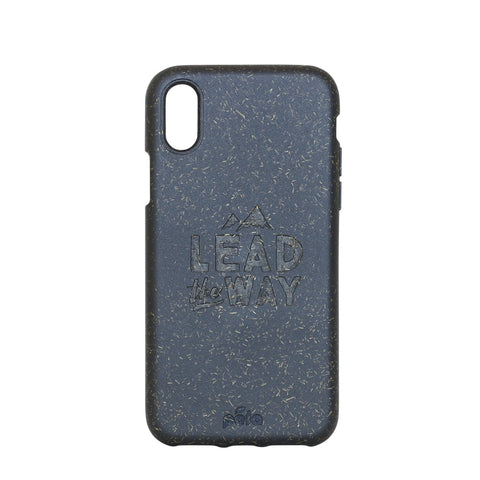 """Lead The Way"" Black Eco Friendly iPhone X Case"