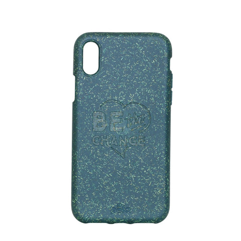 """Be The Change"" Green Eco Friendly iPhone X Case"