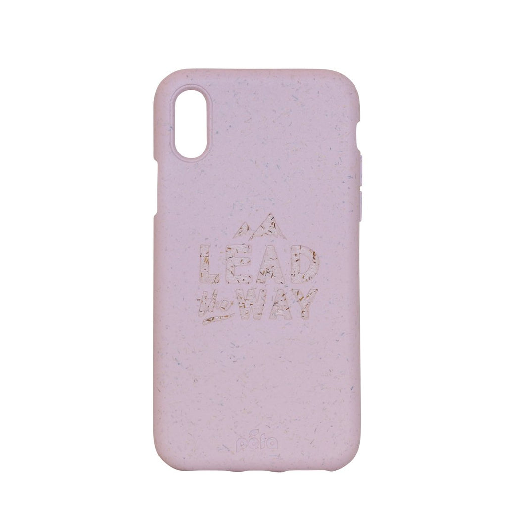 """Lead The Way"" Rose Quartz Eco Friendly iPhone X Case"