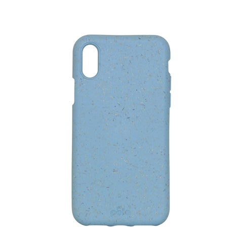 Sky Blue Eco-Friendly iPhone X Case