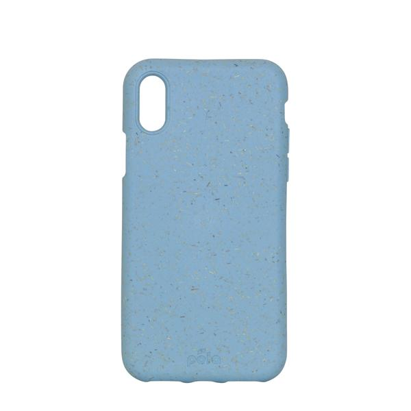 Sky Blue Eco-Friendly iPhone XS Case