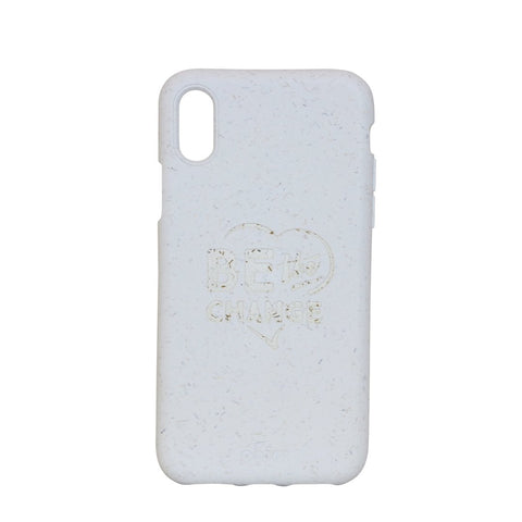 """Be The Change"" White Eco Friendly iPhone X Case"