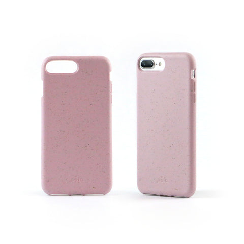 Rose Quartz Eco-Friendly iPhone Plus Case