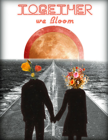 Together, We Bloom Art Print