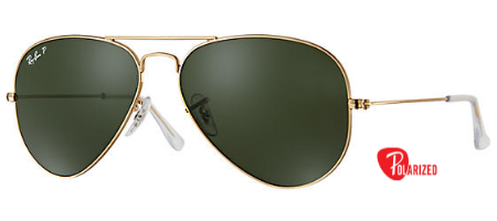 Ray-Ban Aviator Classic RB 3025 Sunglasses Brand New In Box