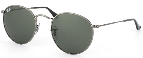 Ray-Ban Round Metal Classic RB3447 Genuine Sunglasses Brand New In Box