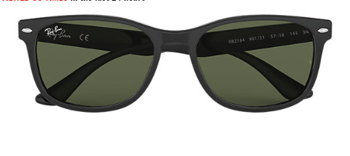 Ray-Ban RB 2184 Replacement Pair Of Polarising Lenses