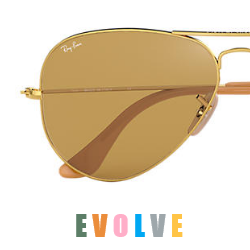Ray-Ban Evolve Aviator RB 3025 Metal Replacement Pair Of  Photochromatic lenses