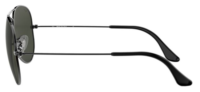 Ray-Ban Aviator RB 3025 Replacement Pair Of End Tips