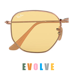 Ray-Ban Evolve Hexagonal RB 3548 Pair Of  Replacement Pair Of Photochromatic lenses