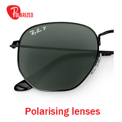 Ray-Ban Hexagonal RB 3548 Pair Of Replacement Polarising lenses