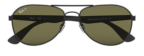Ray-Ban RB 3549 Replacement Pair Of sides