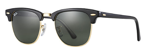 Ray-Ban Clubmaster Classic RB 3016 Genuine Sunglasses Brand New In Box