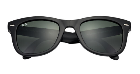 Ray-Ban RB 4105 Folding Wayfarer Replacement Pair of non-polarising lenses