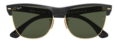 Ray-Ban RB 4175 Clubmaster Oversized Replacement Pair Of Polarising Lenses
