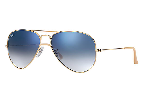 Ray-Ban Aviator Gradient RB 3025 Sunglasses Replacement Pair Of Sides