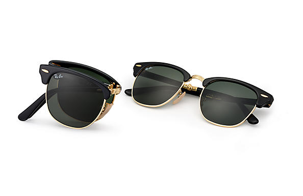 Ray-Ban Clubmaster Folding RB 2176 Sunglasses Brand New In Box