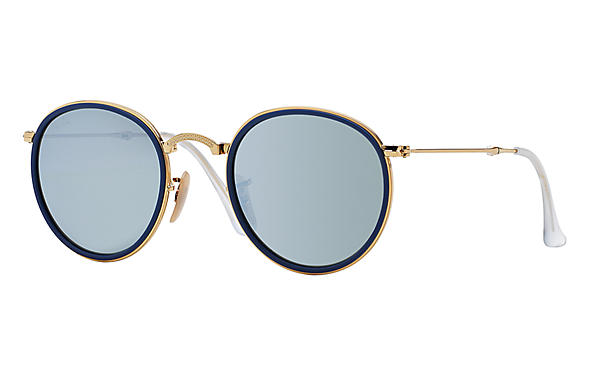 Ray-Ban Round Folding I RB 3517 Sunglasses Replacement Pair Of Non Polarising Lenses
