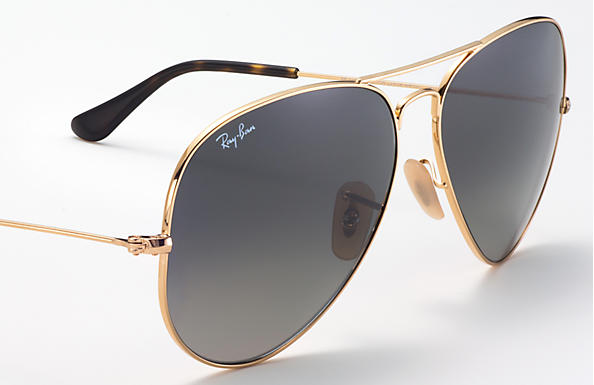 Ray-Ban Aviator Havana Collection RB 3025 Sunglasses Replacement Pair Of Non Polarising Lenses