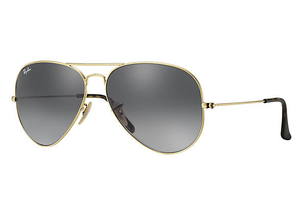 Ray-Ban Aviator Havana Collection RB 3025 Sunglasses Brand New In Box