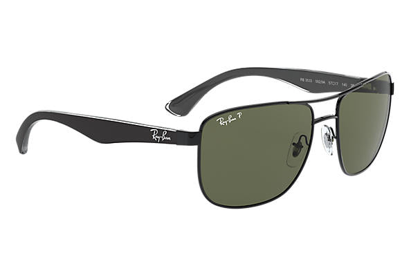 Ray-Ban RB 3533 Sunglasses Replacement Pair Of Sides