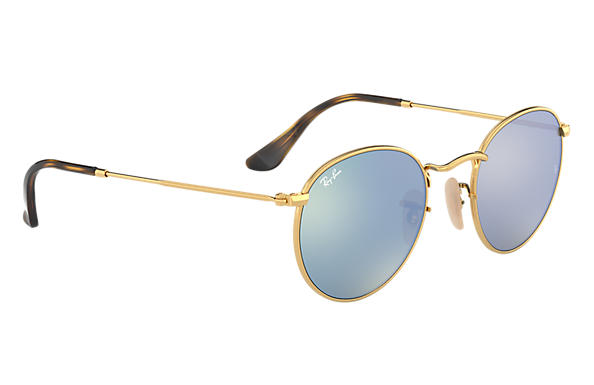 Ray-Ban Round Metal RB 3447N Sunglasses Replacement Pair Of Sides