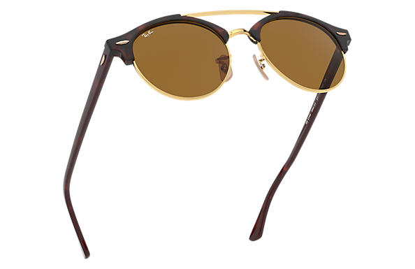 Ray-Ban Clubround Doublebridge RB 4346 Sunglasses Replacement Pair Of Non Polarising Lenses