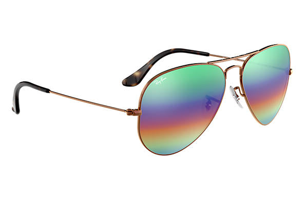 Ray-Ban Aviator Mineral Flash Lenses RB 3025 Sunglasses Replacement Pair Of Non Polarising Lenses