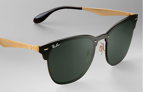 Ray-Ban Blaze Clubmaster RB 3576N Sunglasses Replacement Pair Of Non Polarising Lenses
