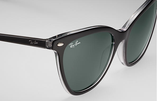 Ray-Ban RB 4360 Sunglasses Replacement Pair Of Sides