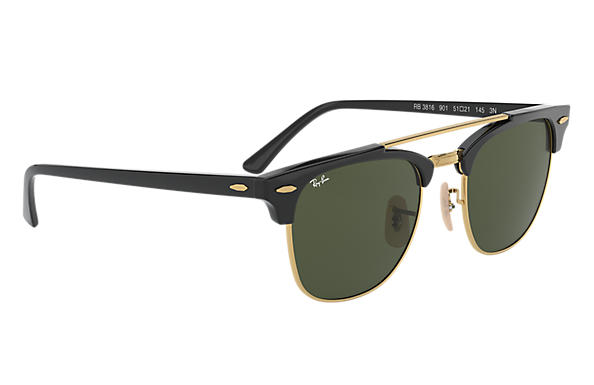 Ray-Ban Clubmaster Doublebridge RB 3816 Sunglasses Replacement Pair Of Non Polarising Lenses
