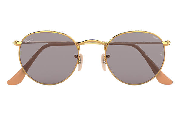 Ray-Ban Round Metal RB 3447 Sunglasses Brand New In Box
