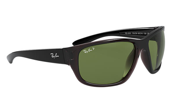Ray-Ban RB 4300 Sunglasses Replacement Pair Of End Tips