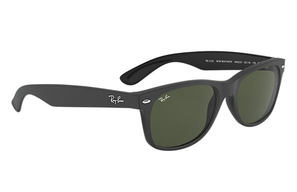 Ray-Ban New Wayfarer RB 2132 Sunglasses Replacement Pair Of Non Polarising Lenses S55