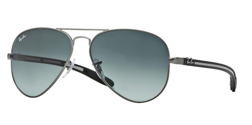 Ray-Ban Carbon Aviator RB 8307 Replacement Pair Of Non Polarising Lenses