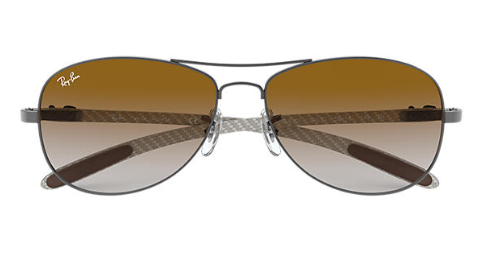 Ray-Ban Tech Carbon Aviator RB 8301 replacement Non Polarising Lenses
