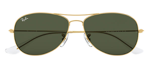 Ray-Ban RB 3362 Cockpit Replacement Pair Of Non-Polarising lenses