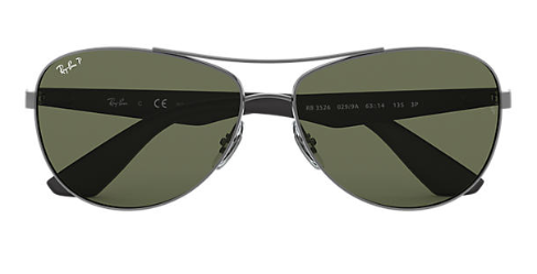 Ray-Ban Aviator RB 3526 Replacement Pair Of sides