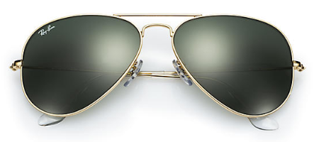 Ray-Ban RB 3025 Aviator Replacement Pair Of End Tips
