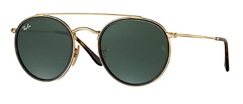 Ray-Ban RB 3647 Round Double Replacement Pair Of Sides