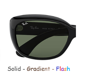 Ray-Ban Jackie OHH RB 4101 Replacement Pair Of Non-polarising lenses