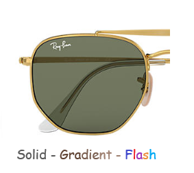 Ray-Ban Marshal 3648 Replacement Pair Of Non-Polarising lenses