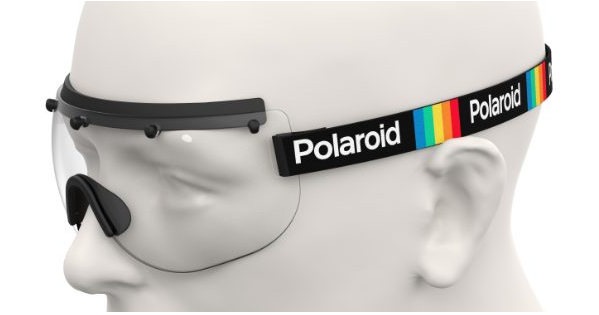 Polaroid Stay Safe 1 Face shield covid 19 protection