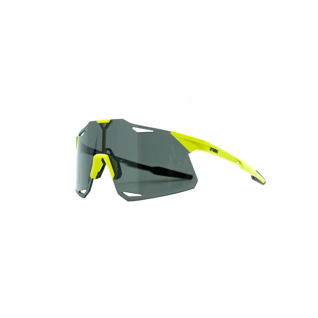 100% Hypercraft Sunglasses - Matte Banana Smoke Lens