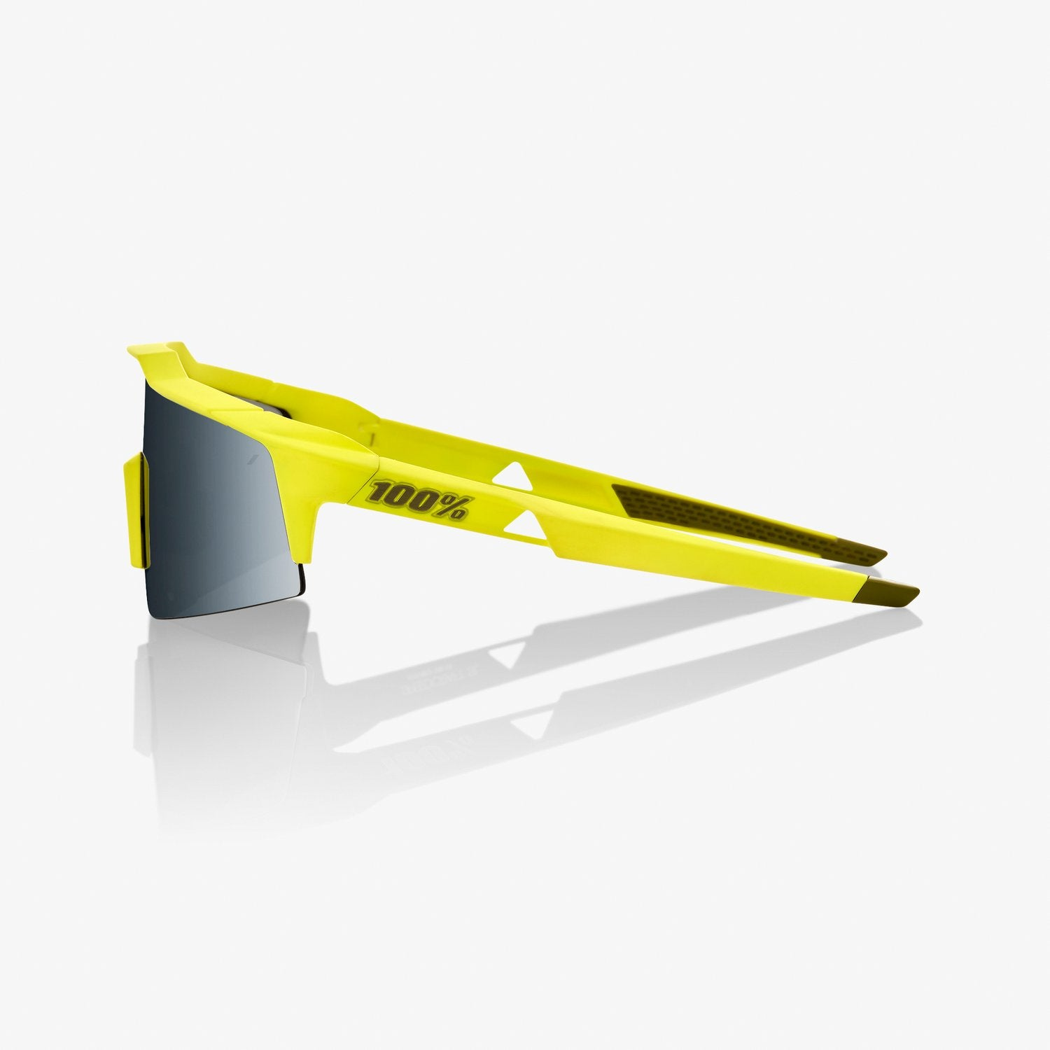 100% Speedcraft SL Sunglass - Soft Tact Banana