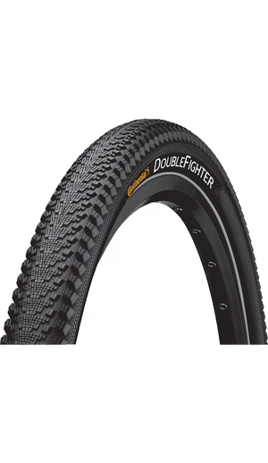 Open image in slideshow, Continental Double Fighter III Touring Tyre