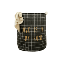 "Panier à Linge ""Love is in my home"""